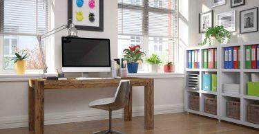Das Büro zuhause einrichten – nur 4 Dinge benötigen Sie hierfür wirklich