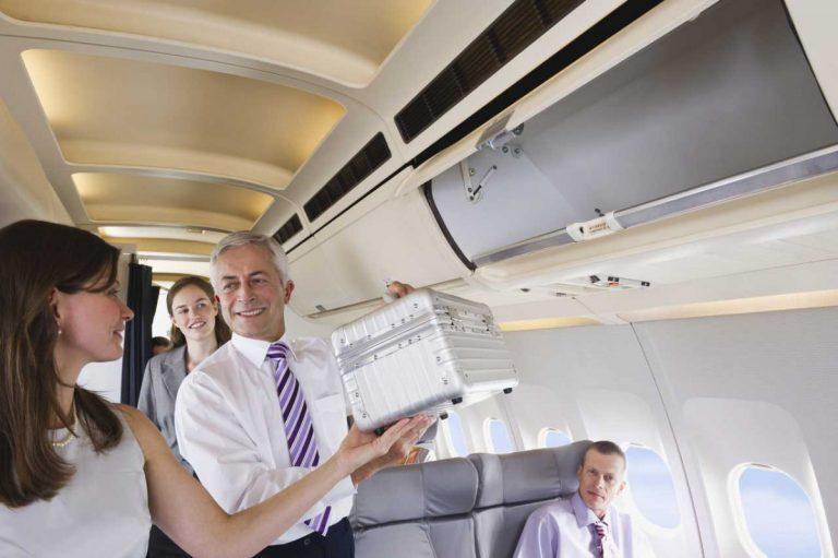 Handgepäck im Flugzeug: Beachten Sie unbedingt diese 3 Regeln