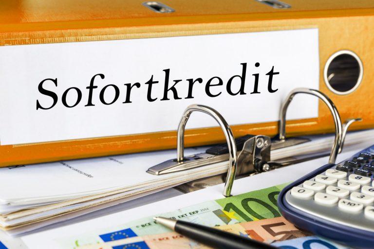 Sofortkredit – 3 Fakten, die Sie kennen sollten