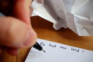 Richtig entschuldigen - 11 Tipps, wie Sie um Verzeihung bitten