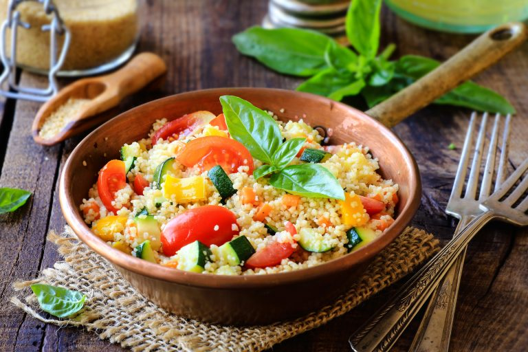 2 leckere vegane Couscous-Gerichte