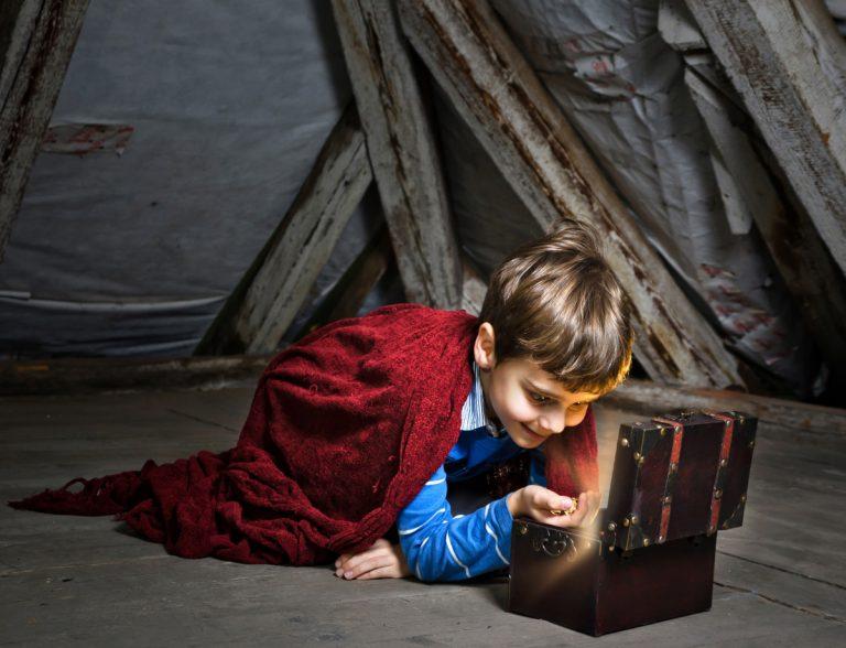 Kindergeburtstag: Schatzsuche im Haus