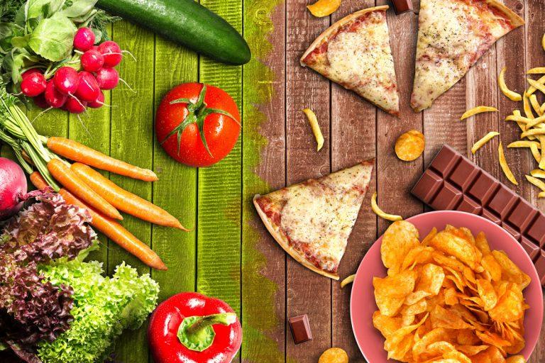 Gesundes Fastfood für unterwegs