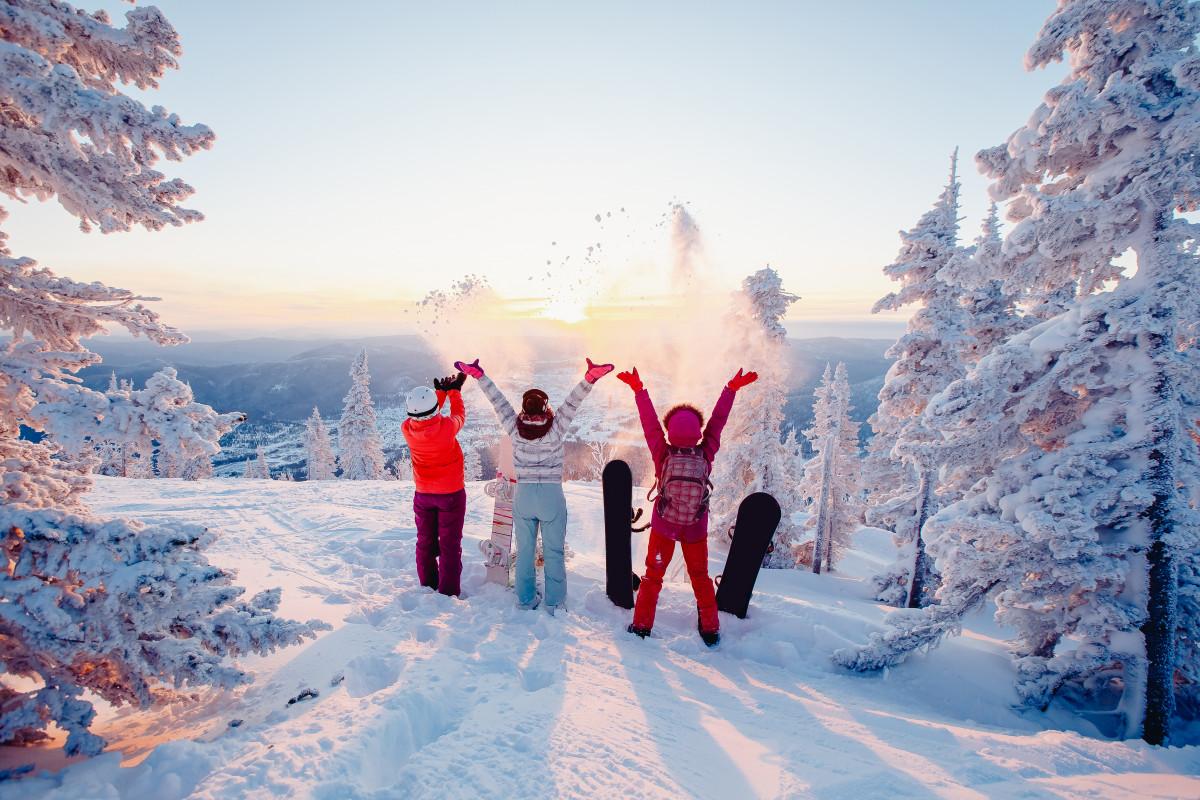 Die 5 besten Ziele für den Skiurlaub