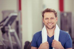 Kleines Fitnessstudio für Zuhause