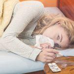 Das homöopathische Mittel Aconit bei plötzlich einsetzender Erkältung