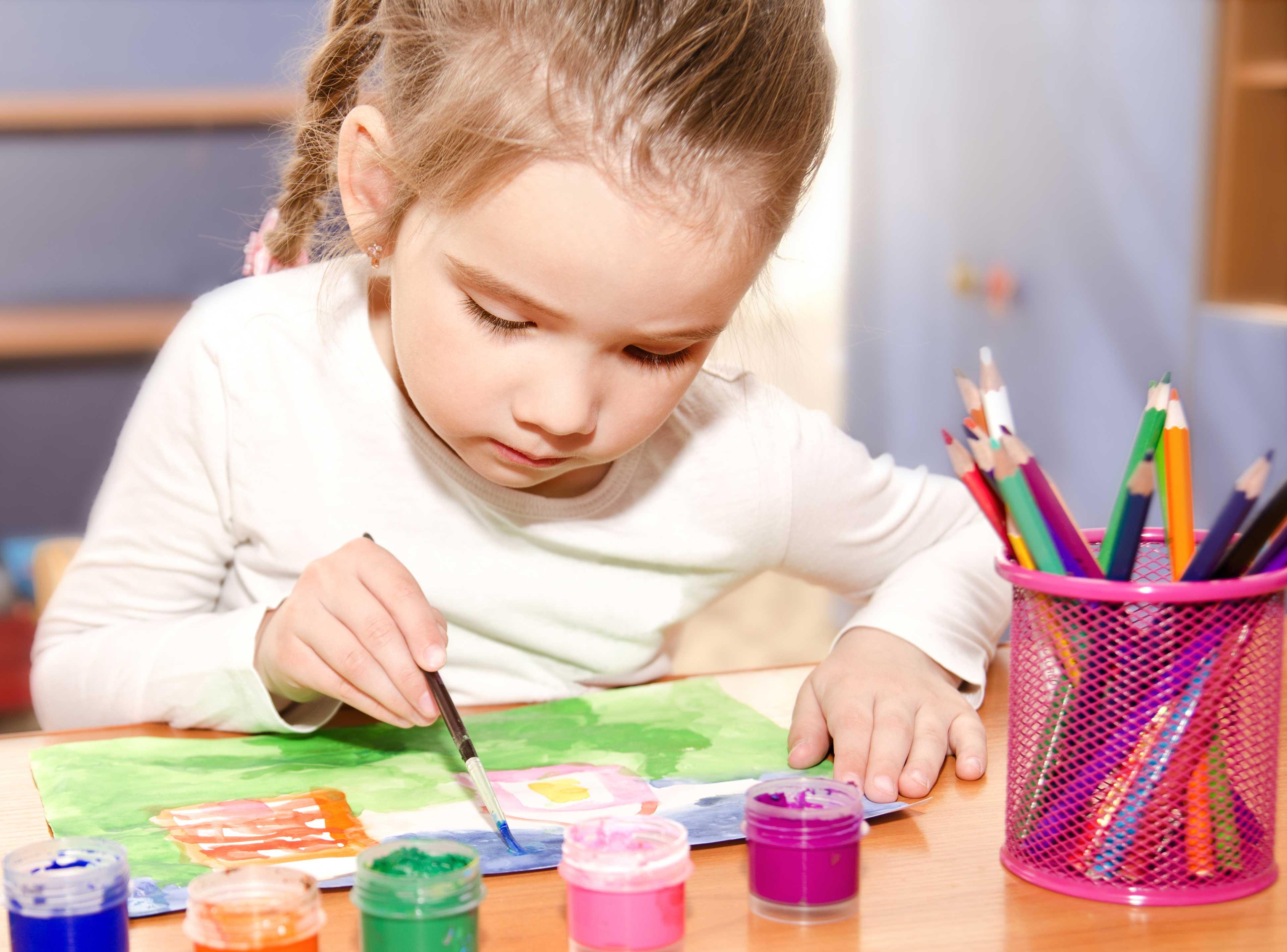 So fördern Sie die Kreativität von Kindern