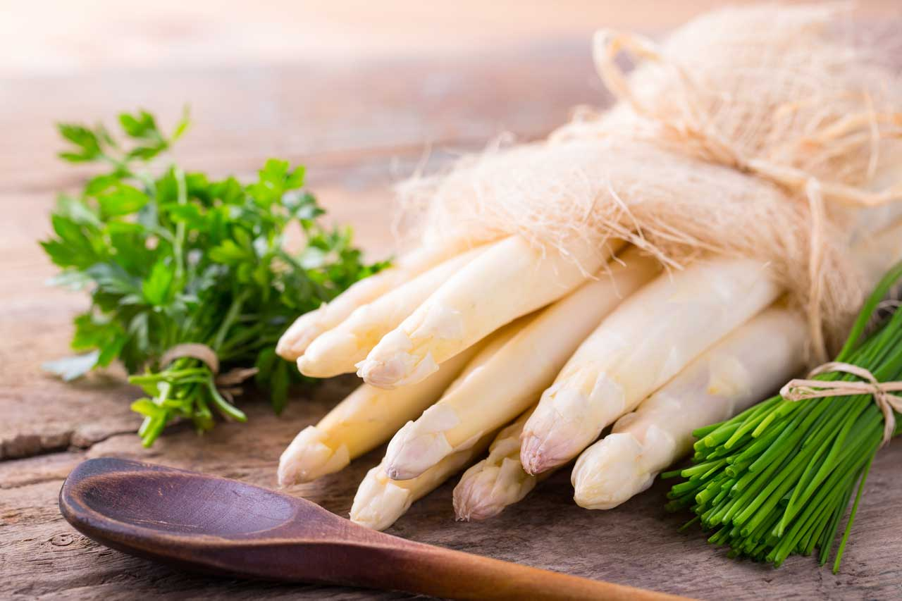 Weißer Spargel – Vitamine und Mineralien des Edelgemüses