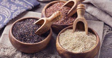 Gesunder Nahrungsmittel-Trend: Quinoa