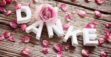 So bedanken Sie sich kreativ bei den Gästen Ihrer Hochzeit