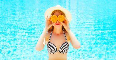 Pflege der Brüste im Sommer
