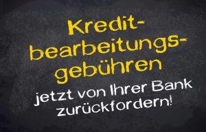 Unternehmerdarlehen: Unzulässige Bearbeitungsgebühren zurückfordern