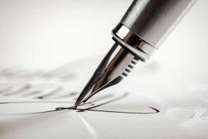 DIN 5008: So platzieren Sie Ihre Unterschrift richtig
