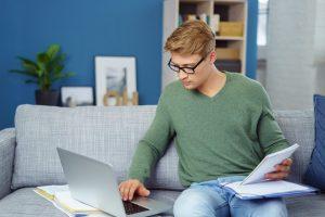 Online-Erklärung: bei Unternehmern vorgeschrieben