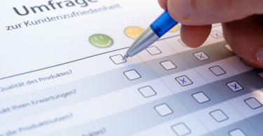 So präsentieren Sie Produktmerkmale oder Umfragen zur Kundenzufriedenheit