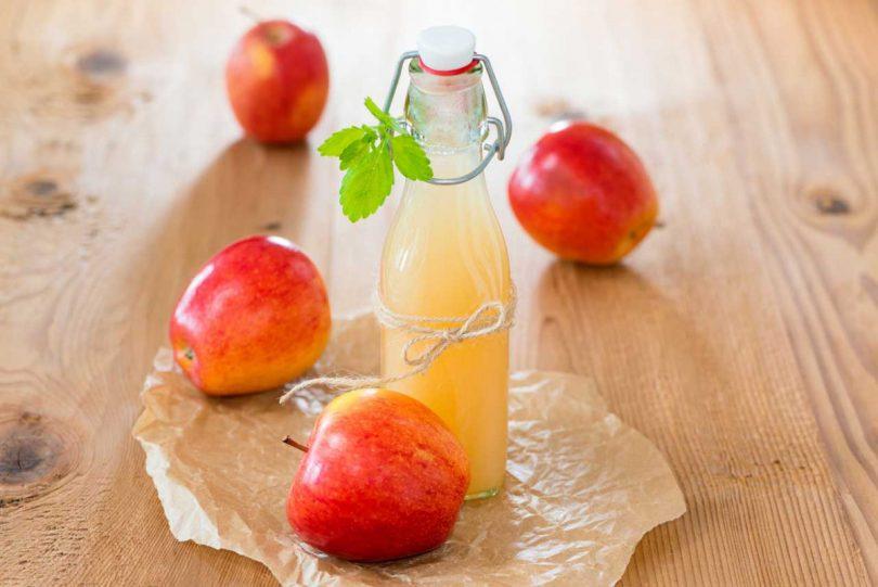 Innere Anwendung von Apfelessig für Ihre Gesundheit