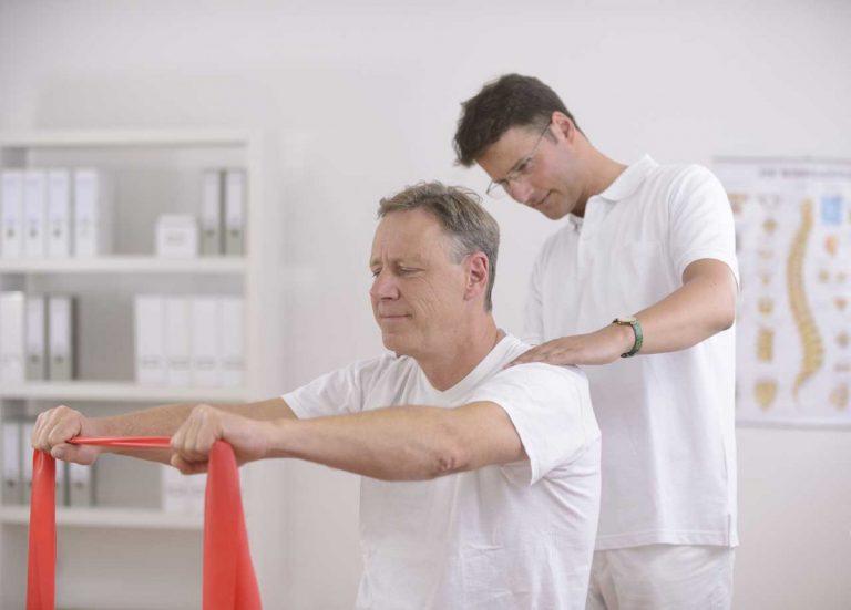 Enorme Bedeutung der Physiotherapie nach einem Schlaganfall