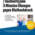 7 hochwirksame 3-Minuten-Übungen gegen Bluthochdruck