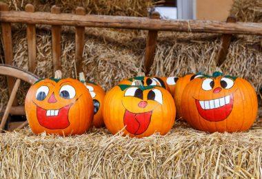 So bemalen Sie einen Halloween-Kürbis