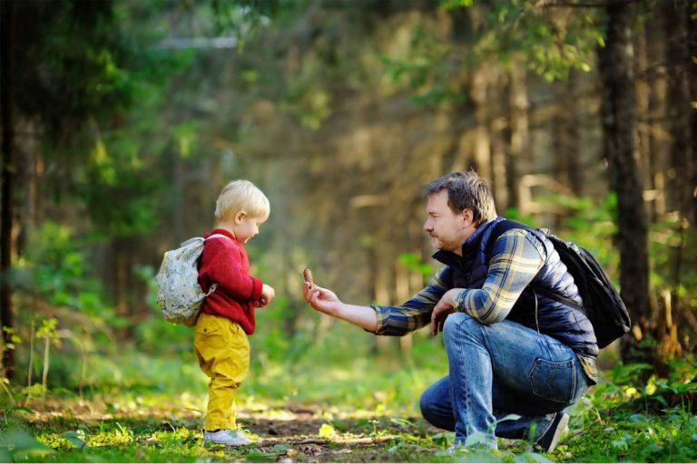 Was kann man mit Kindern im Wald spielen?