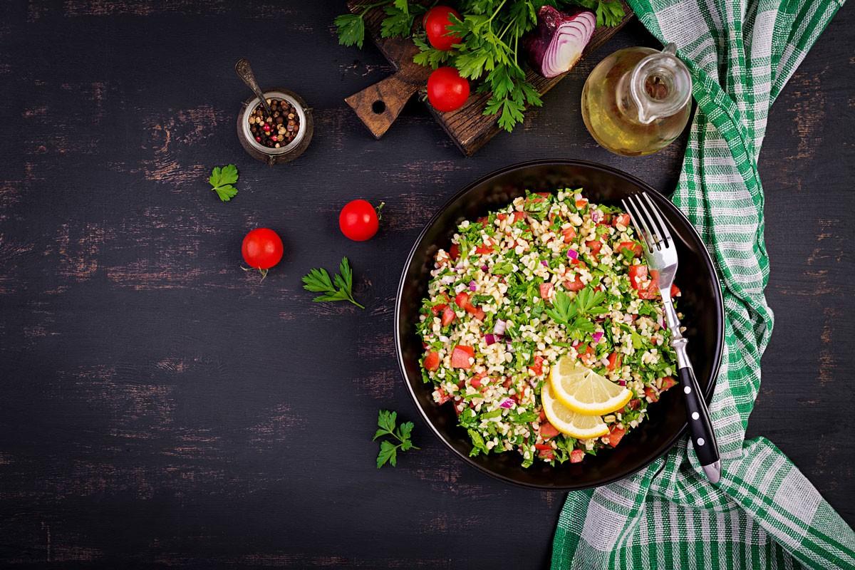Gerichte gegen den Winterblues: Rezept für Tabouleh-Salat