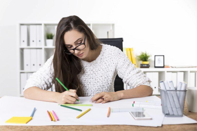 Schreibblockade lösen: Zeichnen Sie sich warm