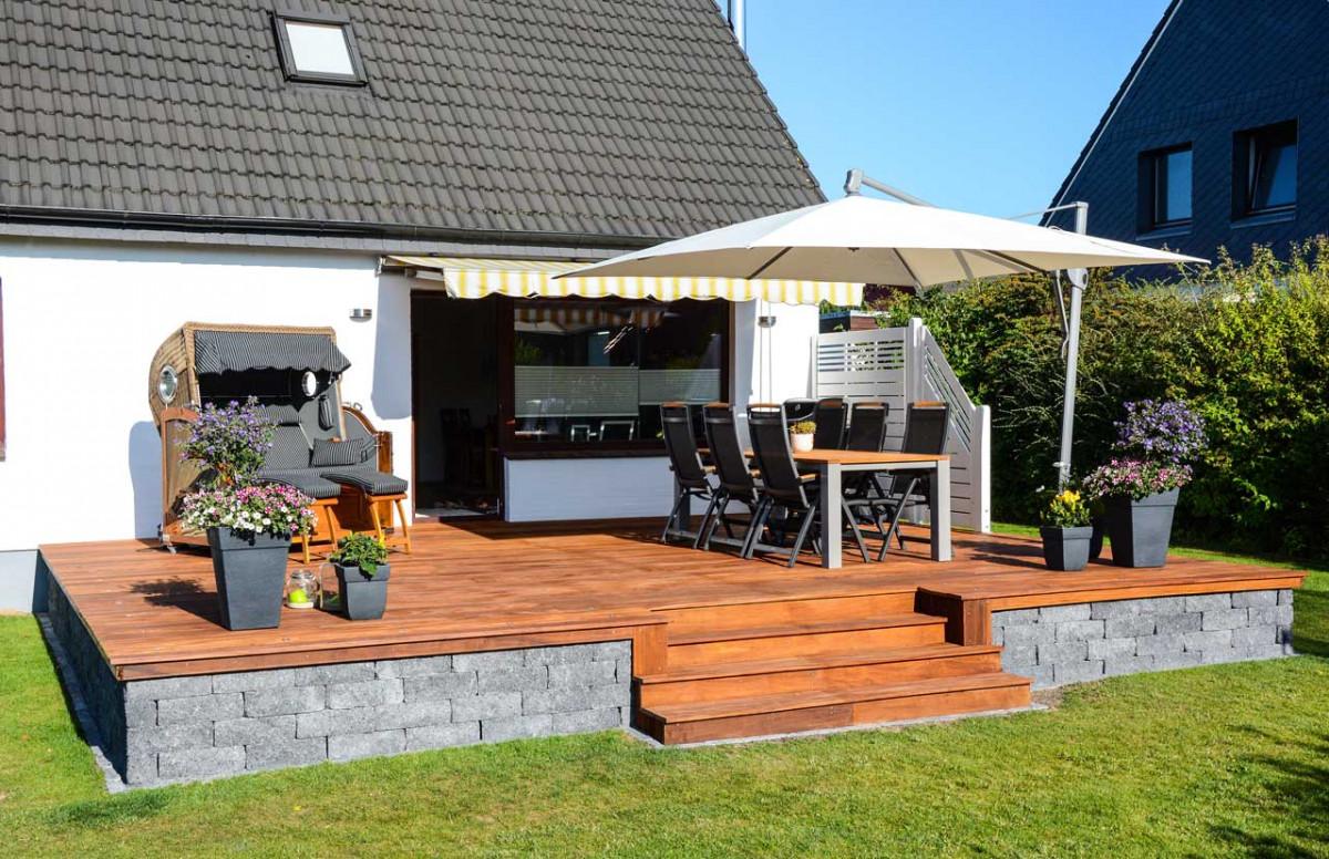 eine terrasse anlegen worauf ist zu achten. Black Bedroom Furniture Sets. Home Design Ideas