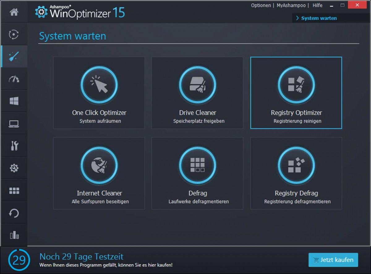 Ashampoo WinOptimizer: Mit diesem Programm beheben Sie 5 der größten PC-Probleme ganz einfach per Mausklick