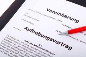 Aufhebungsvertrag und Abfindung
