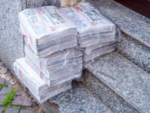 Nervige Werbung: Werbe-Zeitungen im Hauseingang brauchen Sie nicht hinnehmen!