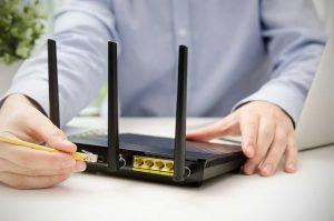 Einstellung eines neuen WLAN Routers