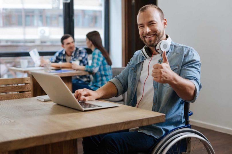 Berufliche Fortbildung und wirtschaftliche Selbstständigkeit für schwerbehinderte Menschen