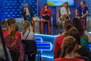 Ihr öffentlicher Auftritt: Zu Gast in einer Talkshow