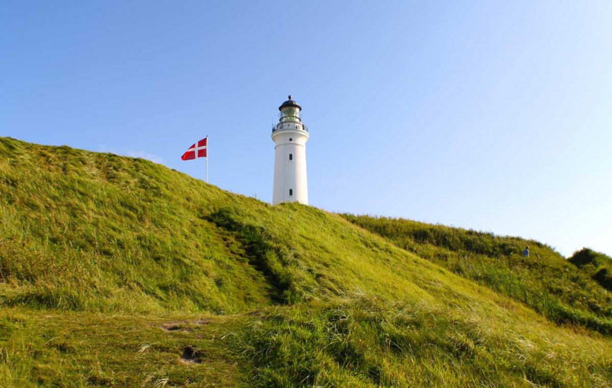 Die Regionen Dänemarks
