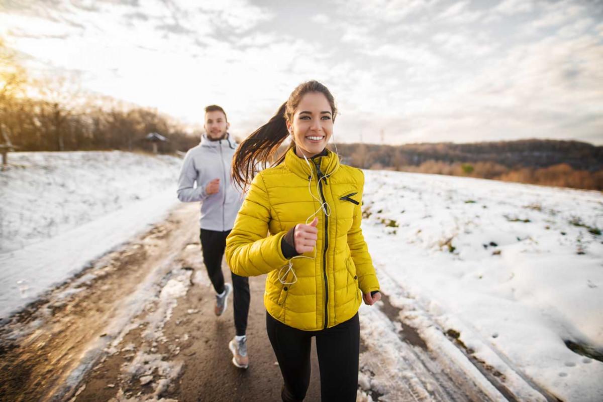 Tipps zum Laufen bei Schnee und Eis