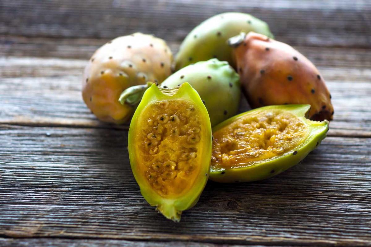 Kaktusfeige: Exotische Früchte mit essbaren Kernen
