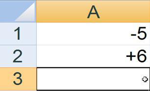 Excel Format: Vorzeichen in Excel-Zellen immer anzeigen lassen