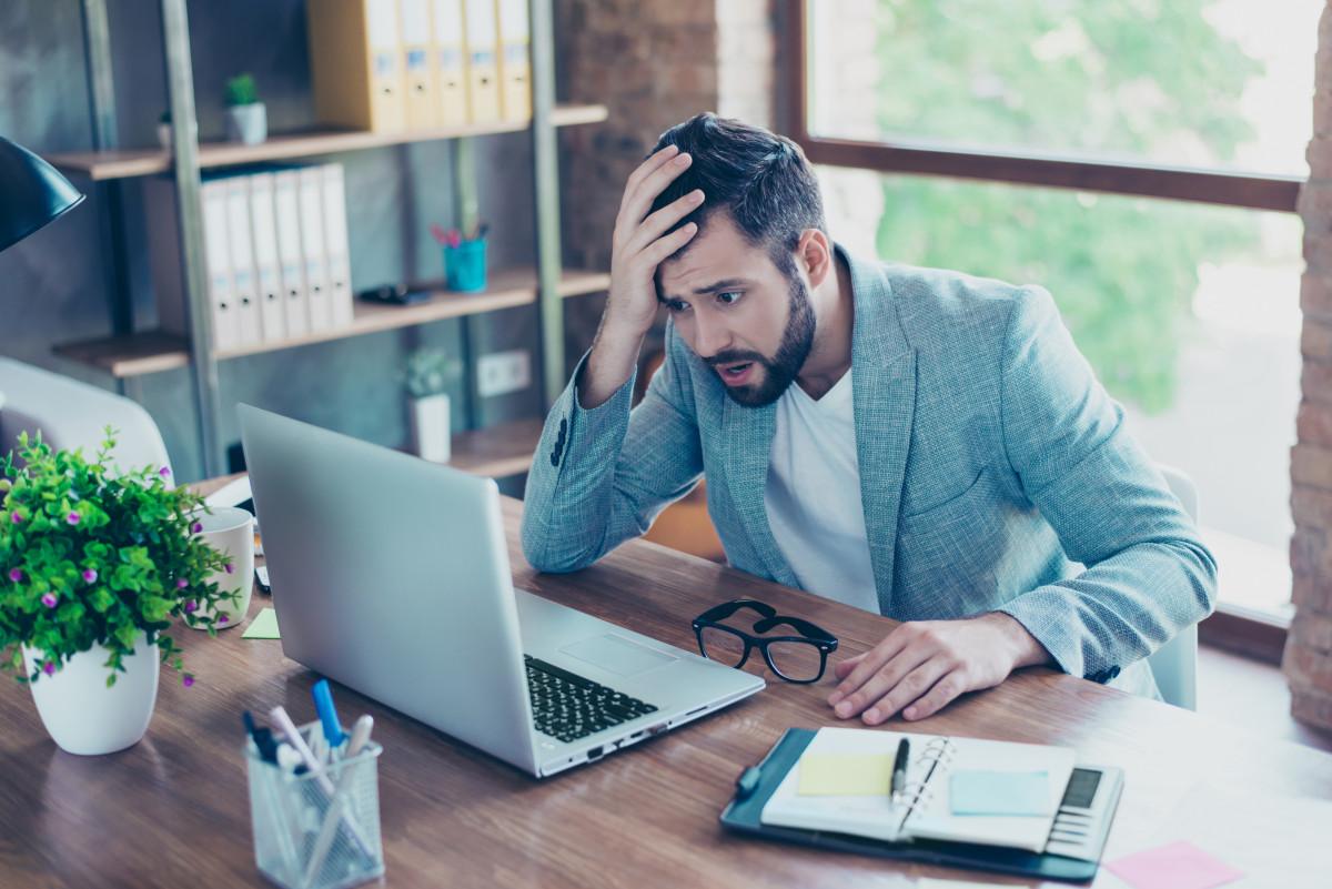 Zu viel Stress im Büro kann Ihrer Gesundheit schaden