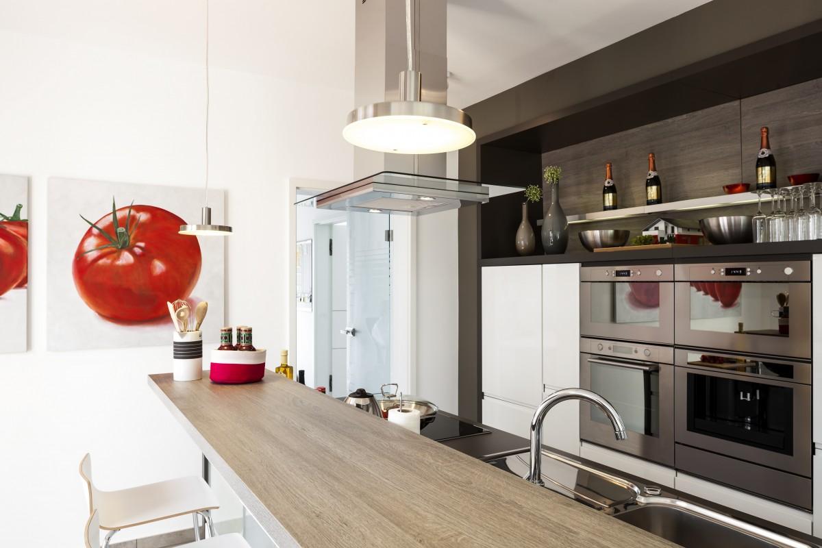 Einbauküche für die Wohnung - Individualität für jede Bedürfnisse