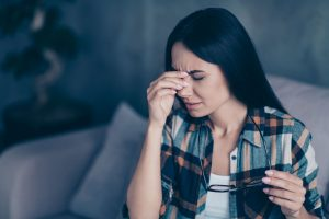 Sehstörungen durch Migräne