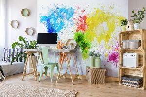4 Schritte zu einem wunderschön eingerichteten Home-Office