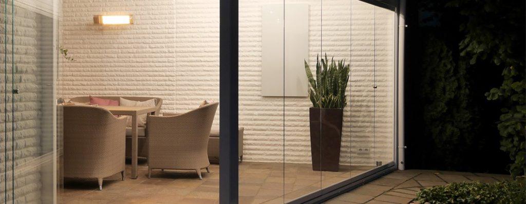 Mit welchem Heizstrahler Terrasse, Balkon und Bad beheizen?